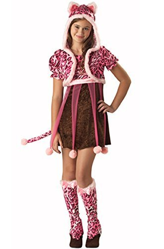 In Character Tween Pink Leopard Kitten Girls Cat Halloween Costume S by Spook (Leopard Tween Kostüme)
