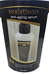 Olay Total Effects + Anti-Ageing serum (2 x more concentrated nutrients) 50 ml with Ayur Freebie