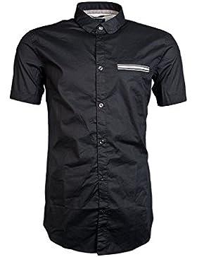 Armani Jeans a6C76Azul Camiseta de manga corta extrafina