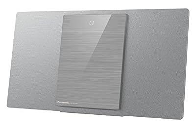 Panasonic sc-hc400eg-s–Microchaîne (40W, Bluetooth, Son Hi-FI, USB, MP3) Couleur Argent par Panasonic