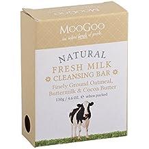 MooGoo Leche fresca Barra de limpieza finamente molida de avena, suero de leche y mantequilla