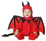 My Other Me Me-205057 Disfraz de diablillo bebé, 7-12 Meses (Viving Costumes 201846)