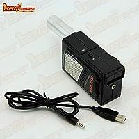 kbxstart - Secador de Pelo para Barbacoa al Aire Libre, soplador de Mano para Barbacoa, Accesorios de Barbacoa, Suministros de Camping, Cable USB DC 5 V, secador de Pelo