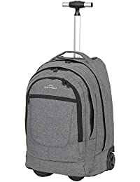 KEANU Premium Schultrolley hochwertiger XL Schulrucksack Rucksack Driver Cruiser Bordgepäck Ranzen Trolley :: Diverse Motive Butterfly Tattoo Dragon :: 35 Liter, Organizerfach, Laptopfach