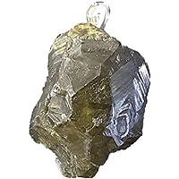 KRIO® - grüner Granat Kristall/Grossular als Anhänger mit Sterlingsilberöse preisvergleich bei billige-tabletten.eu