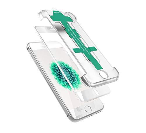 Power Theory Panzerglasfolie kompatibel mit iPhone 6/6s Full Screen 3D - Japanisches 9H Cover Panzerglas Folie/Schutzfolie, HD Displayschutzfolie/Panzerfolie Schutzglas, Screen Protector Glas (Weiß)