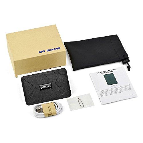 41G1aFf3xPL - GPS Tracker Hangang, Rastreador GPS Standby 120 Días, Localizador GPS a Prueba De Agua, Dispositivo De Rastreo En Tiempo Real, Vehículo GPS Para Autocar Camión GPS Sin Instalación (Tk915)