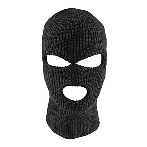 Bweele Máscara Cara Completa Máscara Punto pasamontañas