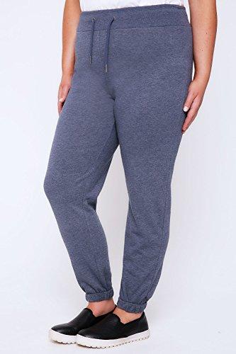 Yours Clothing - Pantalon de sport - Femme Bleu