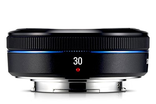 Samsung Pancake S30NB Objektiv 30MM / F2 (43 mm Filteregwinde) für NX-Serie (Kamera Samsung Nx)