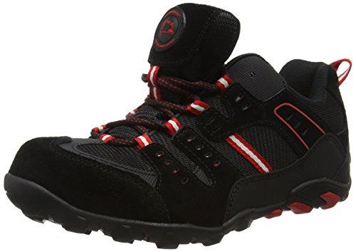 Groundwork GW400 N, Scarpe Di Sicurezza Uomo Nero (Black/ Red)