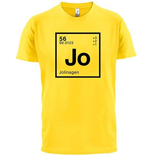 Jolina Periodensystem - Herren T-Shirt - 13 Farben Gelb