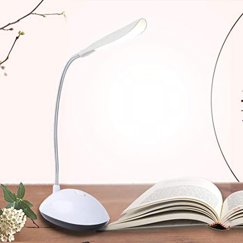 Triple-glühlampen-leuchte (MENGXIANGHUI Nachtlicht Zusammenklappbare Kreativität 4 LEDs Didoe Tischleuchte Mini LED Schreibtischlampe Hohe Lumen Augenschutz Tischleuchte AAA Batteriebetrieben)