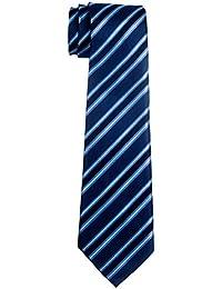 Retreez Jungen Gewebte Krawatte Preppy Gestreifte - 8-10 Jahre
