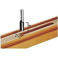 Festool 490972 - Fresa para ranurar de metal duro, filo de base, vástago 8 mm HW S8 D20/30