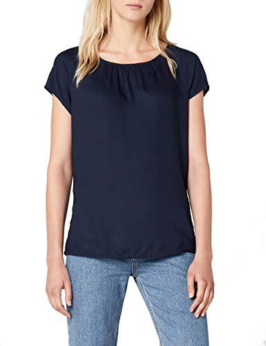 Street One Damen Felia Bluse, Blau (Deep Blue 11238), Herstellergröße:36 -