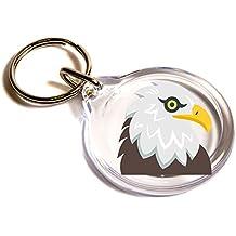 Llavero Eagle Emoji / Eagle Emoji Key Ring