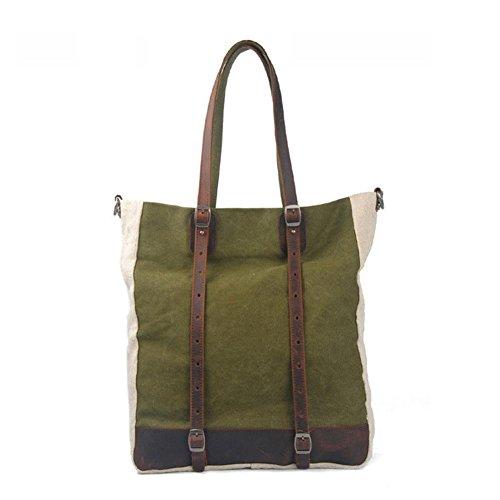 Europa e negli Stati Uniti gli uomini e le donne pacchetto pelle borsa a tracolla di tela commercio estero pacchetto per il tempo libero , red Green