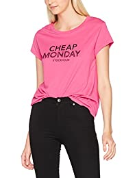 Cheap Monday Have Tee Doodle Logo, T-Shirt Femme