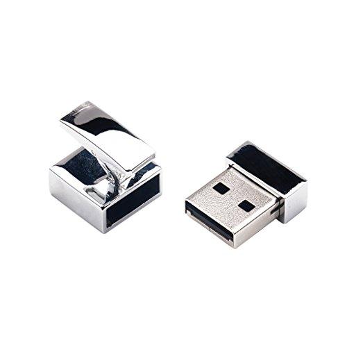 MagiDeal Mini USB Stick Manschettenknöpfe USB 2.0 silber - 16G