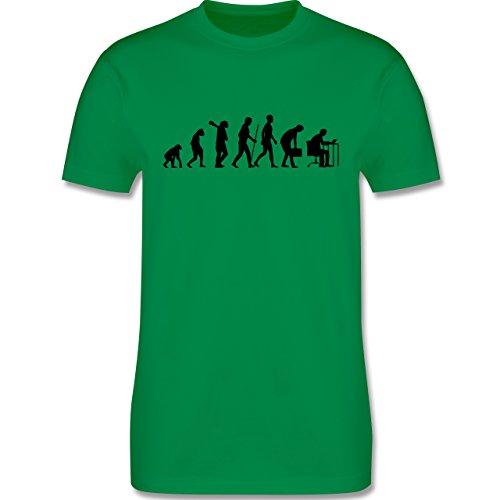 Evolution - Computer Evolution - Herren Premium T-Shirt Grün