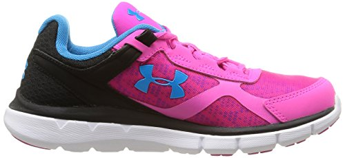 Under Armour Micro G Velocity Rn Damen Laufschuhe Rosa - Rose (Rebel Pink)