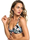 Roxy Beach Classics - Haut de Bikini Triangle Fixe réversible - Femme - S - Noir