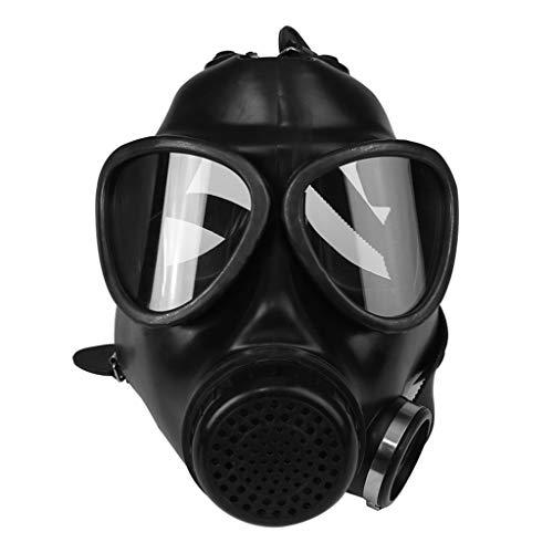 Militär Kostüm Gasmaske - Mikiya Vollmaske für Gas-Maske, Atemmaske, Atemmaske, Gas, Transpiration für Chemie