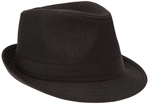 celio-sihborsa-chapeau-fedora-homme-noir-fr-57-taille-fabricant-t1