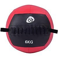 Preisvergleich für FDS Goplus Wall Ball Medizinball Gewichtsball Gymnastikball Rehaball Fitnessball Slamball 4-12kg