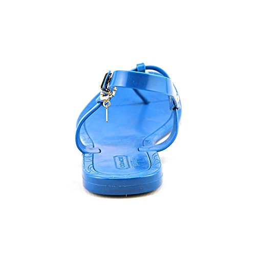 Coach Pier Shiny Jelly Synthétique Tongs Teal