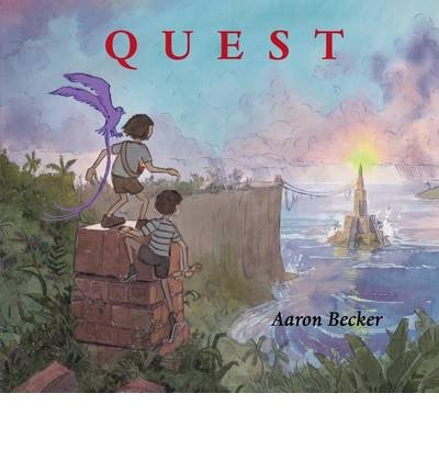 Portada del libro [(Quest)] [ By (author) Aaron Becker, Illustrated by Aaron Becker ] [July, 2014]