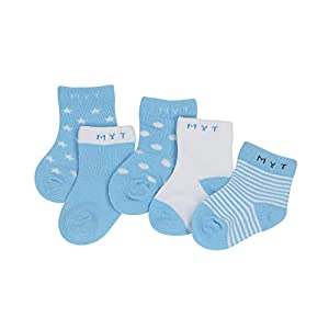 DEBAIJIA 12 Pares de Calcetines de Algodón para Bebé 0-7 Años Suaves Cómodos Niños Niñas Calcetines Respirable Primavera Verano Otoño 12