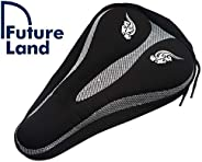 Bike Seat cover Soft Wide Exercise Bicycle Cushion For Bike saddle, Comfortable Cover Fits Cruiser And Station