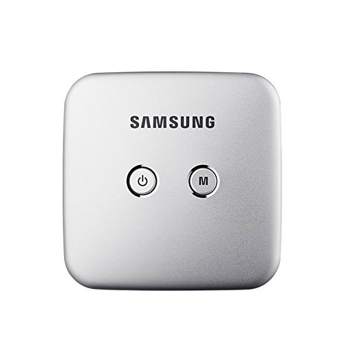Samsung Smart Beam Portable Mini Projector (SSB-10DLFN08 Silver) Wi-Fi Connection, Screen Mirroring (Samsung Smart View App), 4000mAh Battery