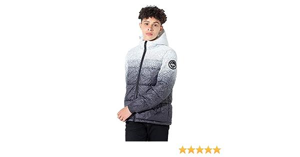Sergio Italia Boys Padded Jacket Puffer Puffa Warm Winter Quilted Hooded Bubble Fleece Coat