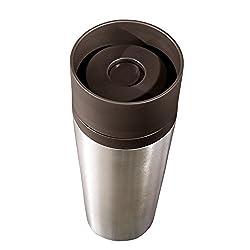 Tchibo Thermobecher, Isolierbecher, Coffee to Go, 355ml, aus Edelstahl