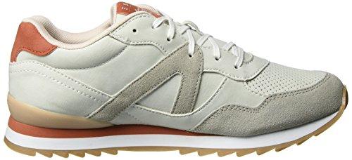 ESPRIT Damen Astro Lace Up Sneakers Grau (050 Pastel Grey)