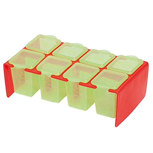 Newsbenessere.com 41G1rjF%2BFjL Clevamama 7026 Clevaportions Contenitori per Freezer e Frigorifero