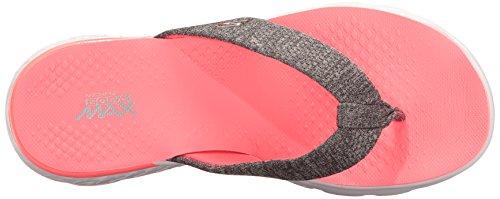 Skechers On-the-Go 400-Vivacity, Flip Flop Donna Grigio (cchp)