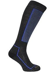 Horizon Slalom Technische Merino Wolle Erwachsene Ski Socken Herren Damen Unisex