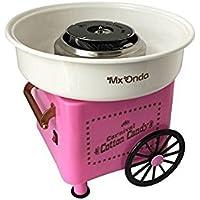 Mx Onda MX-AZ2765 - Máquina de algodón de azúcar, color rosa
