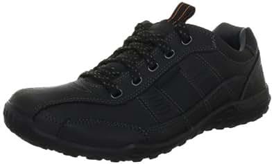 Skechers BallardGilroy 63525, Herren Fashion Sneakers, Schwarz (BLK), EU 41