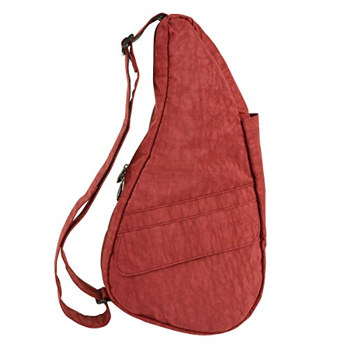 Healthy Textured Nylon 6103, Zaino Unisex adulto, 23x43x15 cm (L x A x P) rosso peperoncino