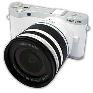 Samsung 300 + 18-55mm Appareil Photo Numérique Compact 20.3 Mpix Wi-Fi Blanc