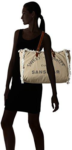 Sansibar - Sansibar, Borsa a mano Donna Beige (Beige (original))