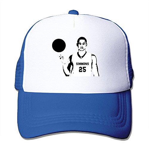 xj-cool Bosquejo no. 1Pick Simmons Trucker Cap malla ligera Snap Back Hat