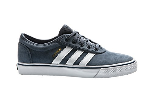 adidas Skateboarding Adi-Ease Face of Crazy, tech ink-future white-gold metallic, 10 (Adidas Skateboarding)