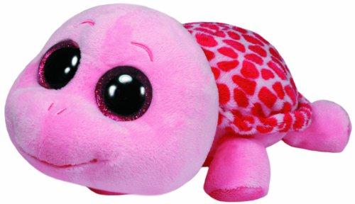 TY 36808 - Plüschtier Beanie Boos Glubschi, Myrtle X-Large Schildkröte, pink