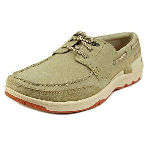 rockport-cshorebound-3-eye-uomo-us-11-beige-larga-scarpa-da-barca